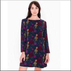 American Apparel loose fit floral dress